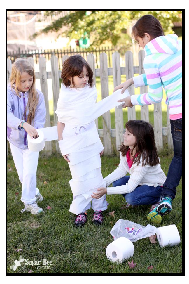 Mummy wrap 2